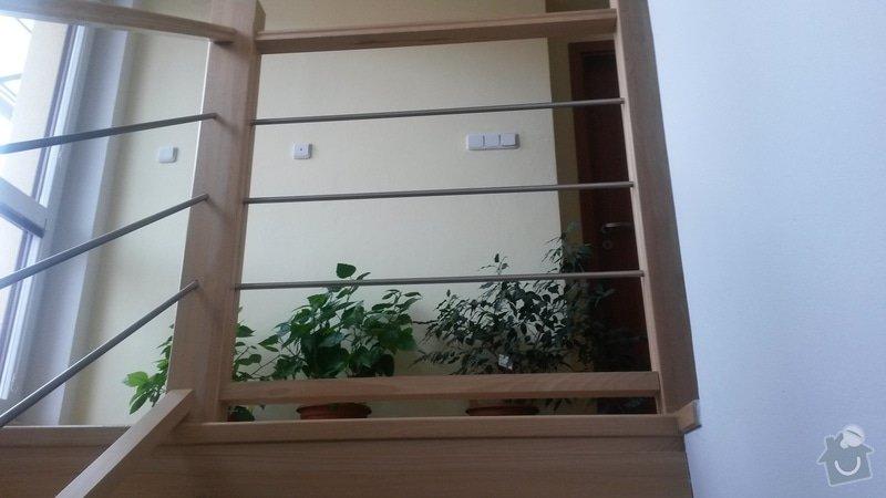 Schodiště a zábradlí v rodinném domě + skříň: 20150212_115400