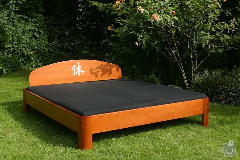 Výroba postele a nočních stolků z masivu: postel