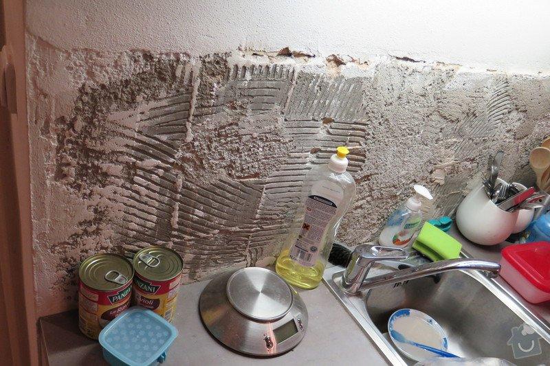 Zarovnaní stěny+obklad tapetou 2m2 u kuchyňslé linky: IMG_0533