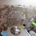 Zarovnani steny obklad tapetou 2m2 u kuchynsle linky img 0533