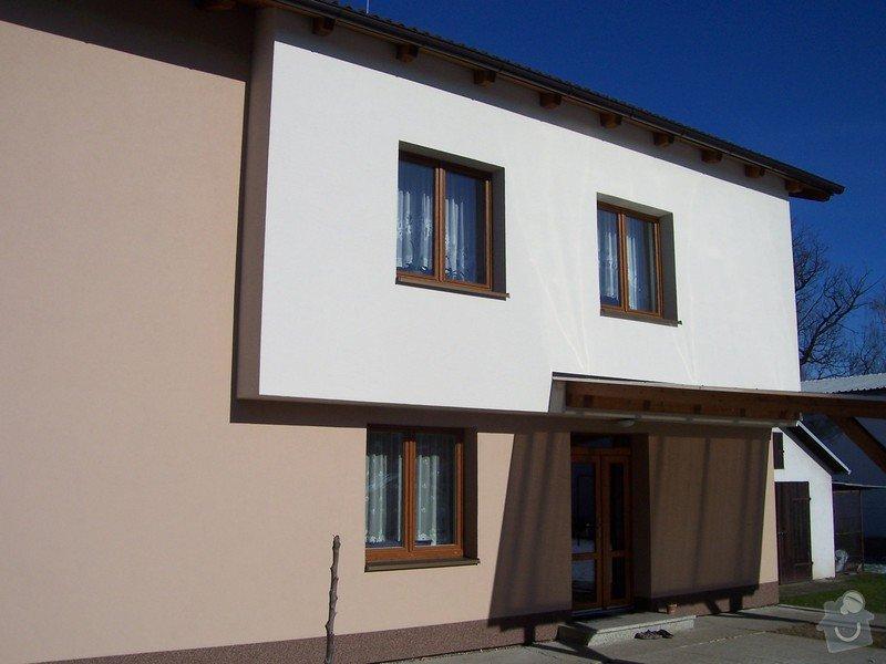 Zateplení fasády RD v Českých Budějovicích: 100_4746