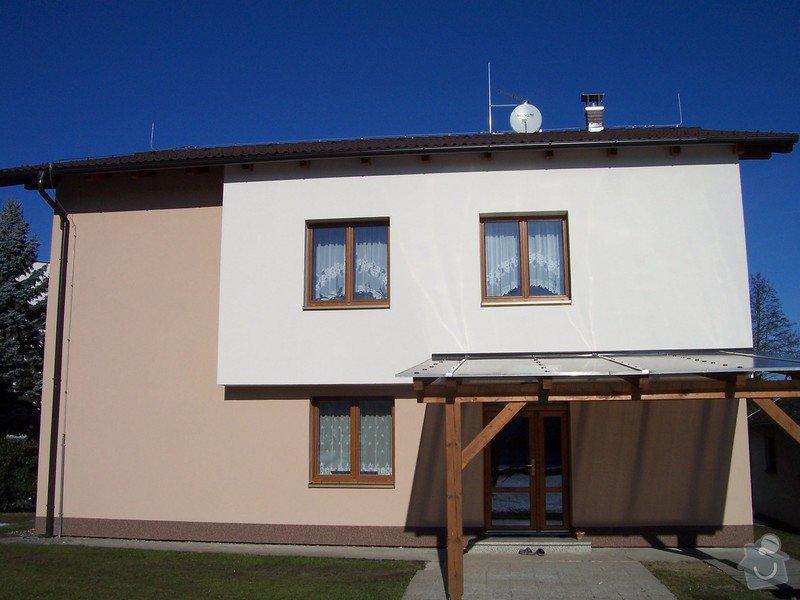 Zateplení fasády RD v Českých Budějovicích: 100_4747