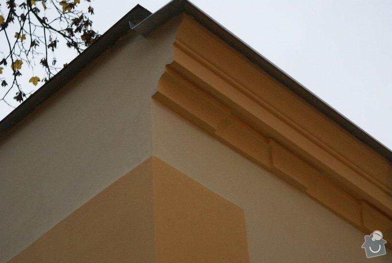 Vyčištění štukové výzdoby a výmalba + fasáda objektu knihovny : fasada-objektu-knihovny_DSC01102