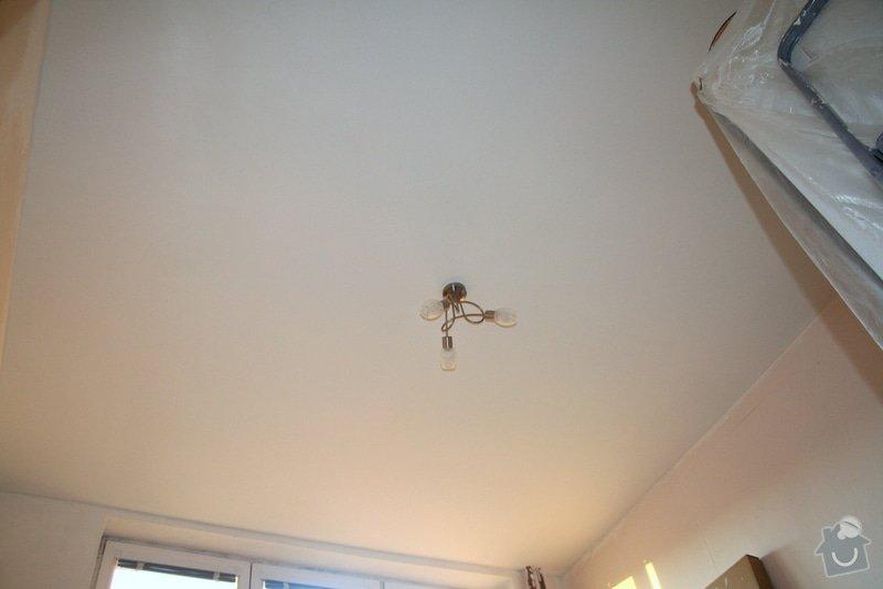 Sádrokartonový podhled (13m2) + zavěšení stropního svítidla: 234_003