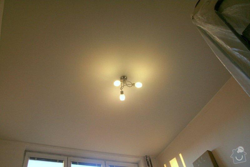 Sádrokartonový podhled (13m2) + zavěšení stropního svítidla: 234_004