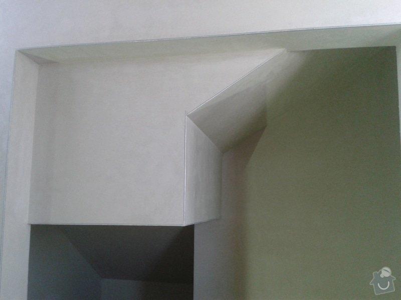 Strojní omítka sádrová hlazená: 20150213_124032
