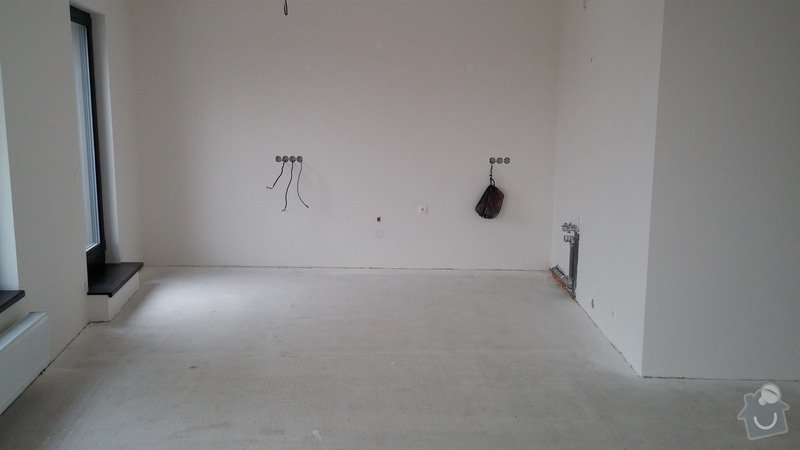 Pokládka podlahy: kuchyn