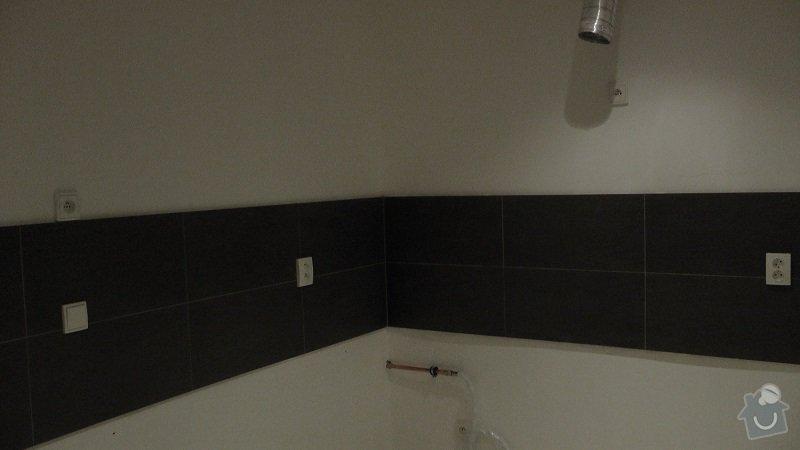 Kompletní rekonstrukce bytového jádra, chodby, kuchyně: 214-13