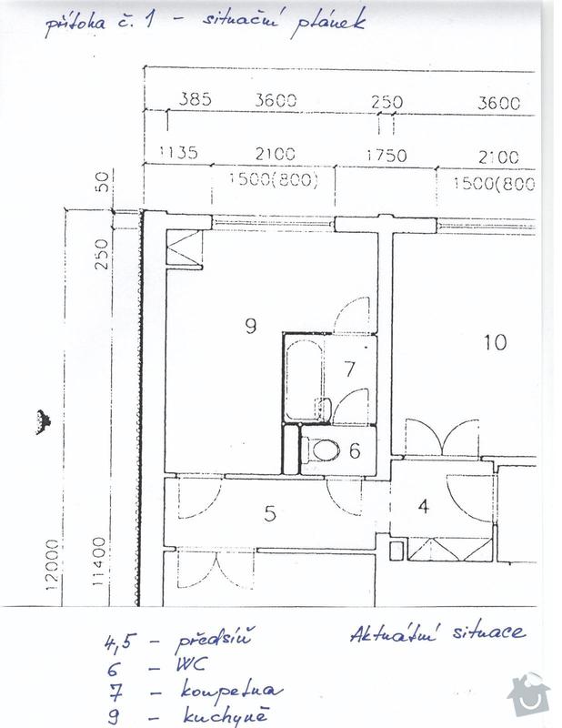 Rekonstrukce bytového jádra: Priloha_c.1_-_planek_bytu