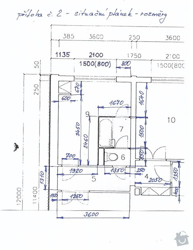 Rekonstrukce bytového jádra: Priloha_c.2_-_planek_bytu_rozmery_