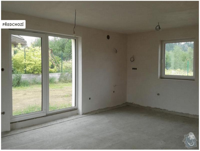 Podlahove topeni a rozvody vody v novostavbe rodinneho domu: foto1