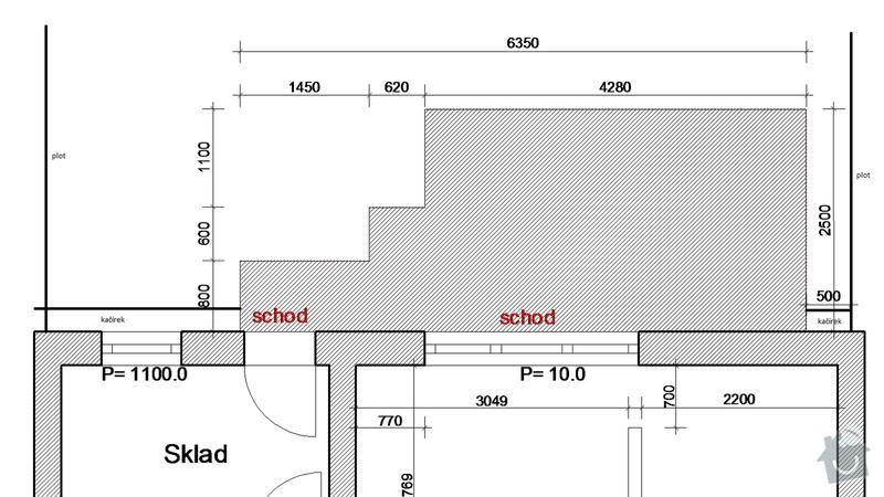 Zhotovení terasy u RD z dlažby Best: terasa