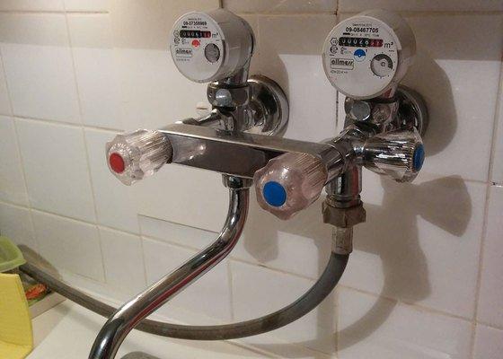 Příprava pro zapojení myčky na vodu + odpad