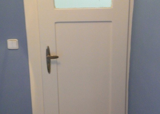 Lakování dveří