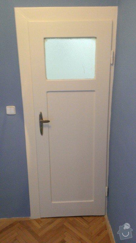 Lakování dveří: 2