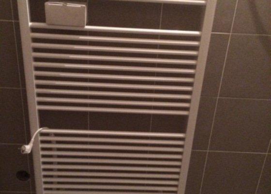 Rekonstrukce vody, kanalizace, plynu a topení v bytě