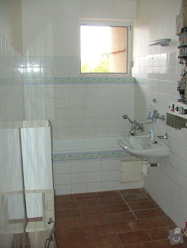 Kompletni rekonstrukce koupelny: DSCF5079