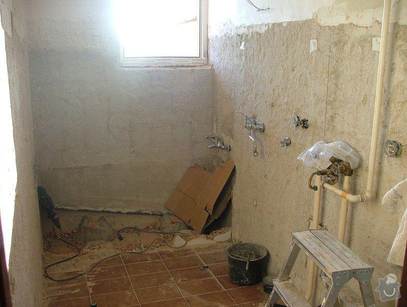 Kompletni rekonstrukce koupelny: DSCF5084