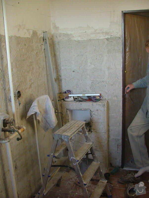 Kompletni rekonstrukce koupelny: DSCF5085