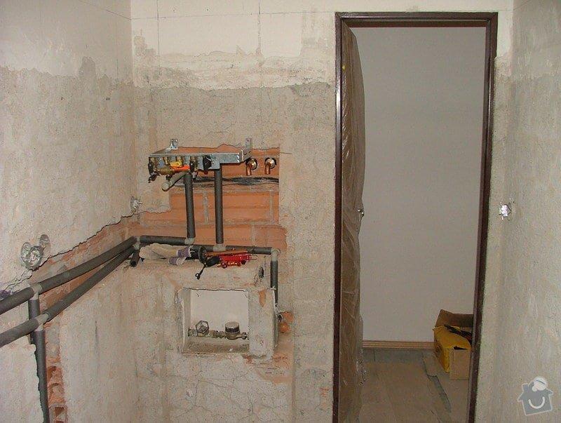 Kompletni rekonstrukce koupelny: DSCF5089
