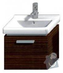 Koupelnová skřínka pod umyvadlo : skrinka-45cm-wenge