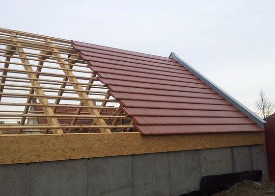 Novostavba střechy chráněného bydlení Brumovice