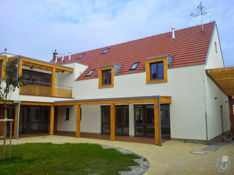 Novostavba střechy chráněného bydlení Brumovice: 20141015_140910