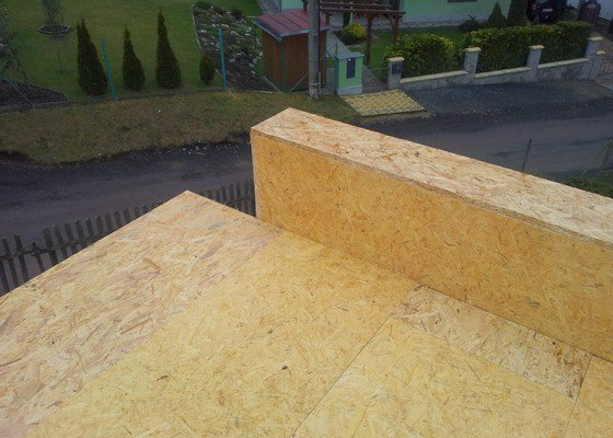 Rovná střecha RD