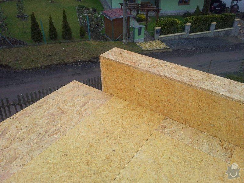 Rovná střecha RD: 20150123_135428