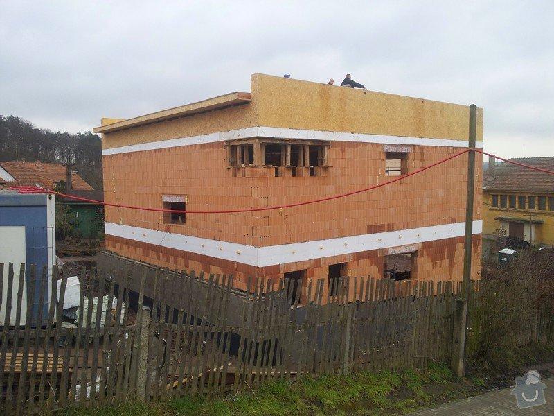 Rovná střecha RD: 20150123_140829