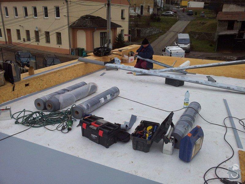 Rovná střecha RD: 20150128_110738