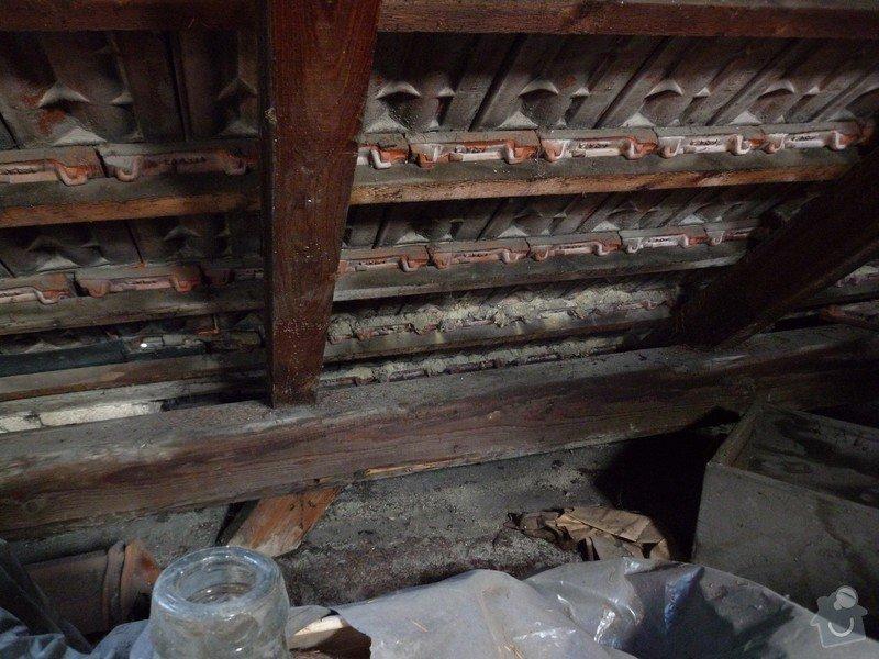 Oprava střechy RD: detail_krovu