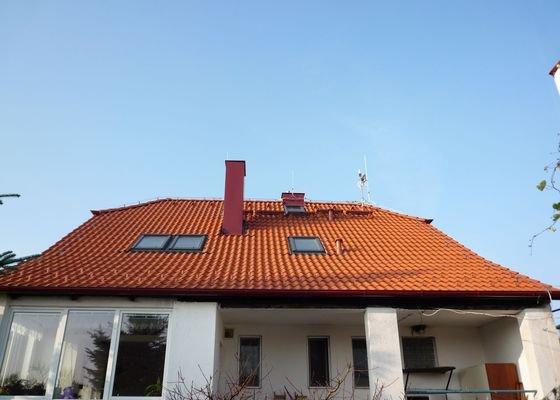 Oprava střechy RD