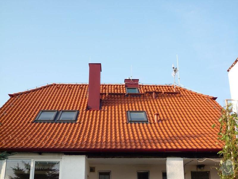 Oprava střechy RD: P1010009