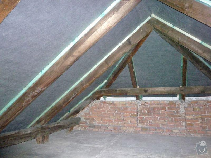Oprava střechy RD: P1010020