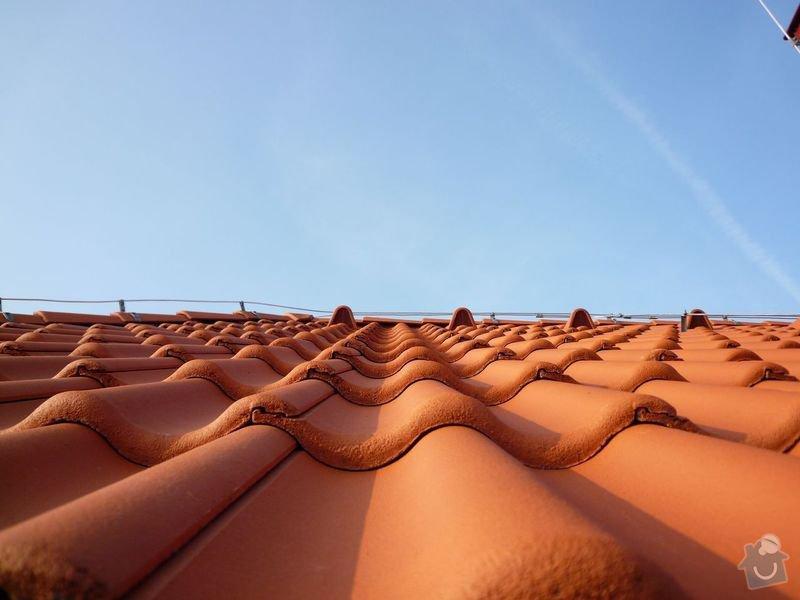 Oprava střechy RD: P1010026