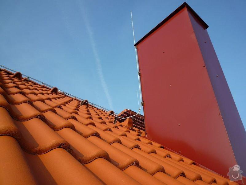 Oprava střechy RD: P1010027