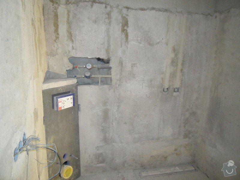 Obložení koupelny cca 20 m2: SDC16457
