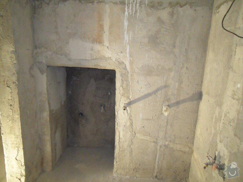 Obložení koupelny cca 20 m2: SDC16458