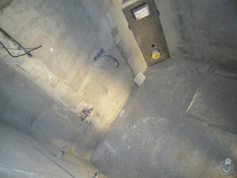 Obložení koupelny cca 20 m2: SDC16460