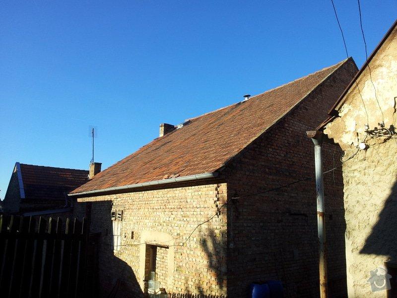 Rekonstrukce střechy a stropu kulturního domu: 20150113_104556