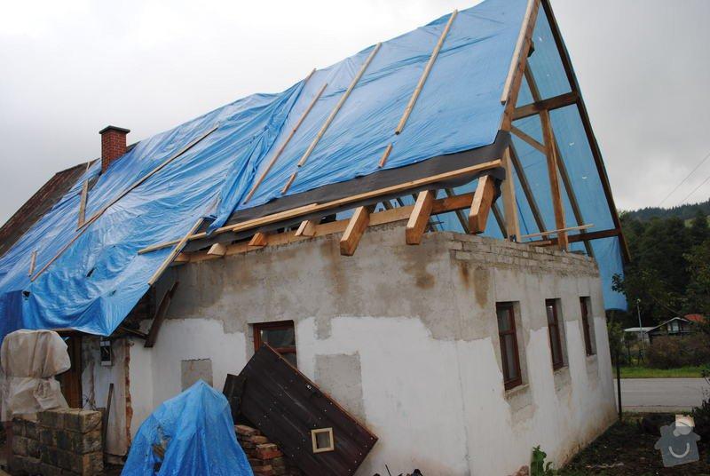 Rekonstrukce  střechy: DSC_0094
