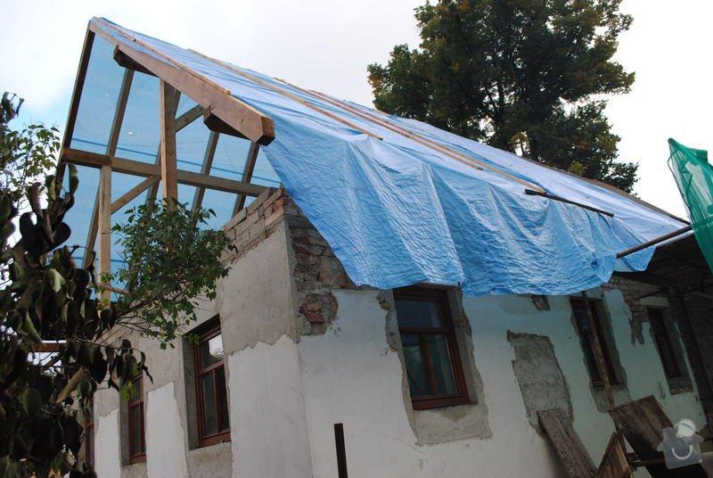 Rekonstrukce  střechy: DSC_0096