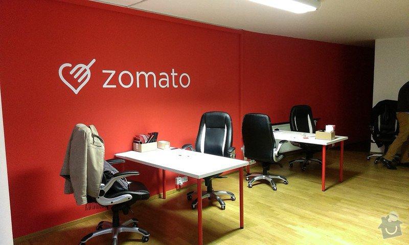 Malování kancelářských prostor a aplikace magicwall nátěru: IMAG0023