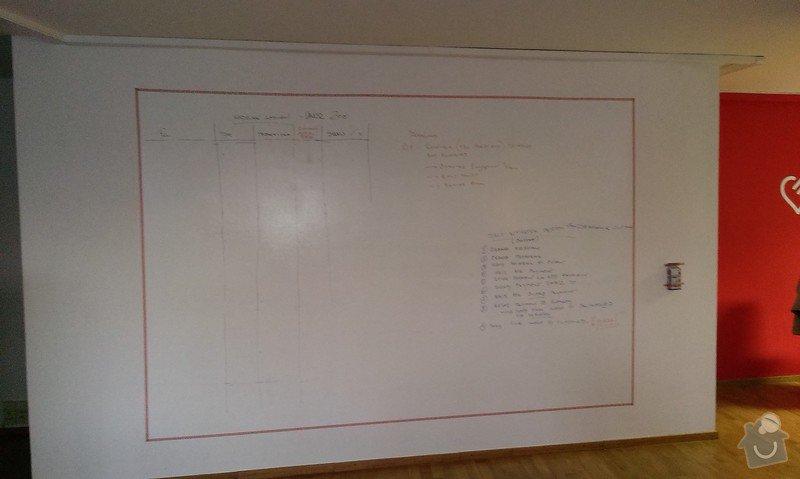 Malování kancelářských prostor a aplikace magicwall nátěru: IMAG0024