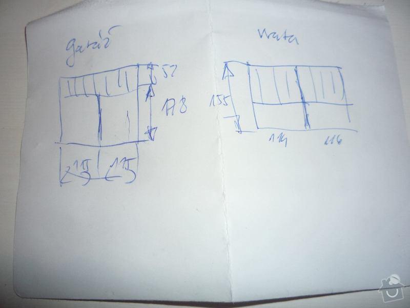 Truhlářské prace: vykres