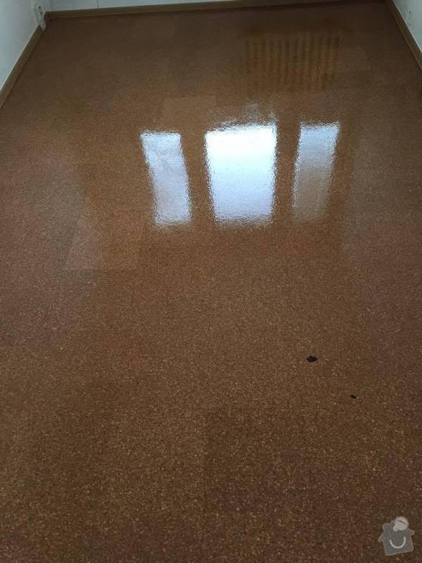 Renovace korkové podlahy, t.j. zbroušení a nalakování: 10994732_942548439110878_1163177518_n