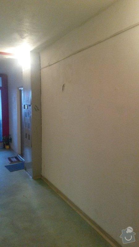 Opravy omítek v panelovém domě: 3_patro