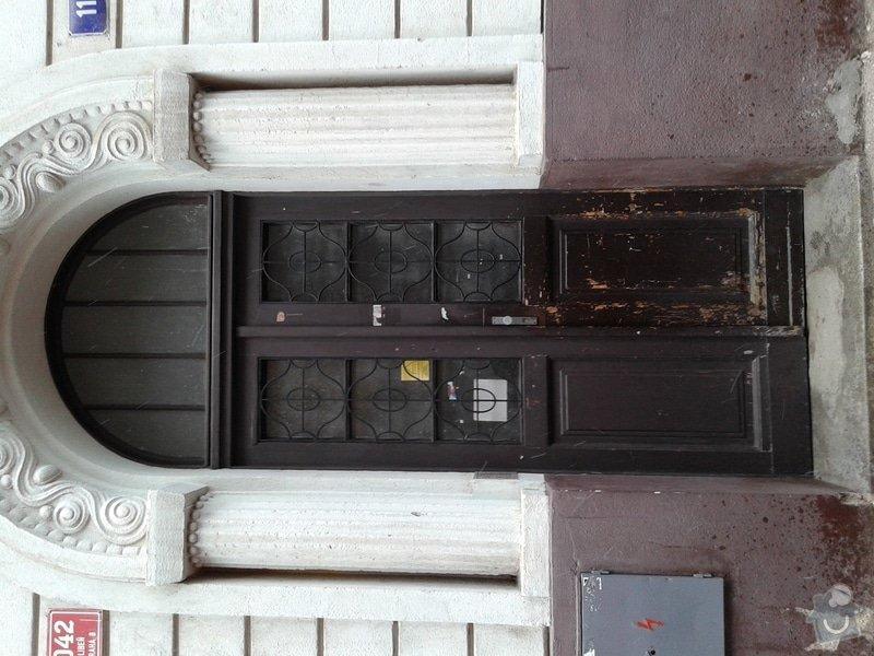 Renovace vstupních dveří do domu:: 20150202_095658a