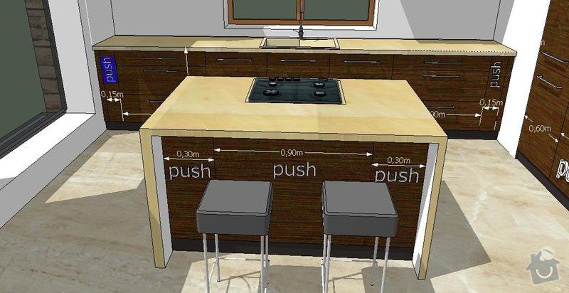 Kuchyňská linka: M2